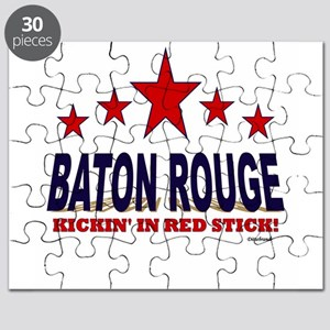 Baton Rouge Kickin' In Red Stick Puzzle