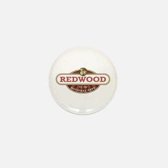 Redwood National Park Mini Button (10 pack)