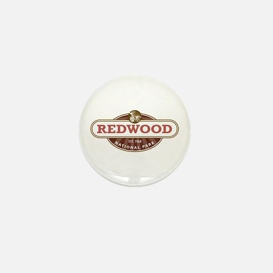 Redwood National Park Mini Button