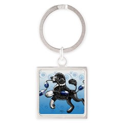 Portuguese Water Dog Keychains