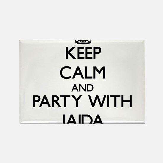 Keep Calm and Party with Jaida Magnets