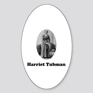 Harriet Tubman Oval Sticker