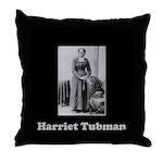 Harriet Tubman Throw Pillow