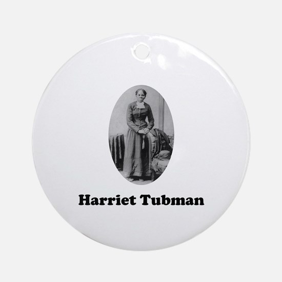 Harriet Tubman Ornament (Round)