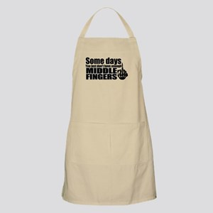 Middle Fingers Apron