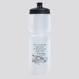 funny doctor joke Sports Bottle