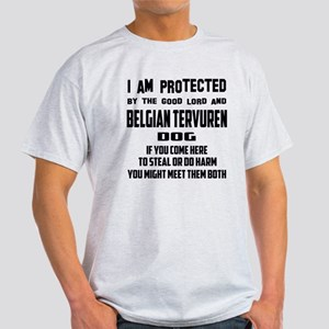 I am protected by the good lord and Light T-Shirt