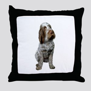 Italian Spinone (Roan) Throw Pillow