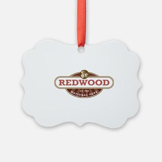 Redwood National Park Ornament
