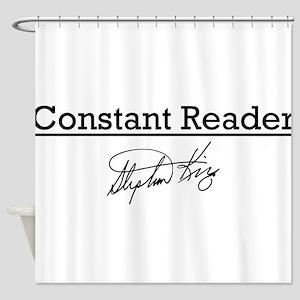 Constant Reader Shower Curtain