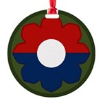 9th Infantry Round Ornament