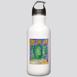 Cactus, southwest desert art, Water Bottle