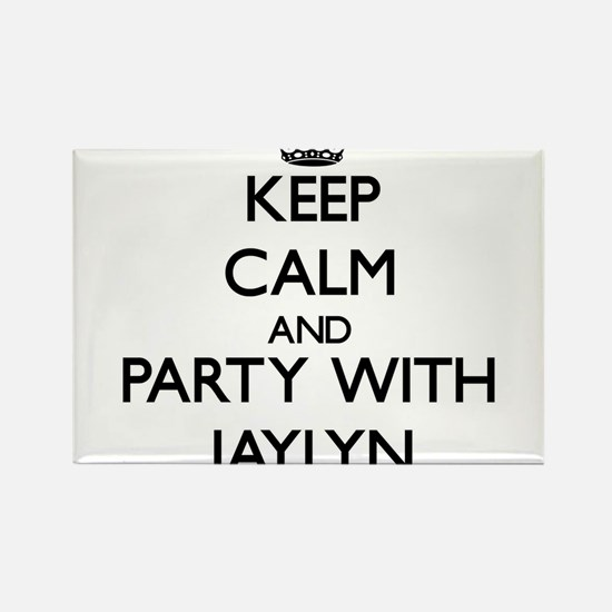 Keep Calm and Party with Jaylyn Magnets