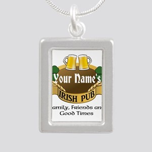 Personalized Name Irish Pub Necklaces
