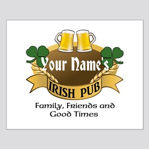Personalized Name Irish Pub Posters