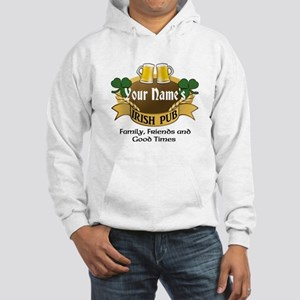 Personalized Name Irish Pub Hoodie
