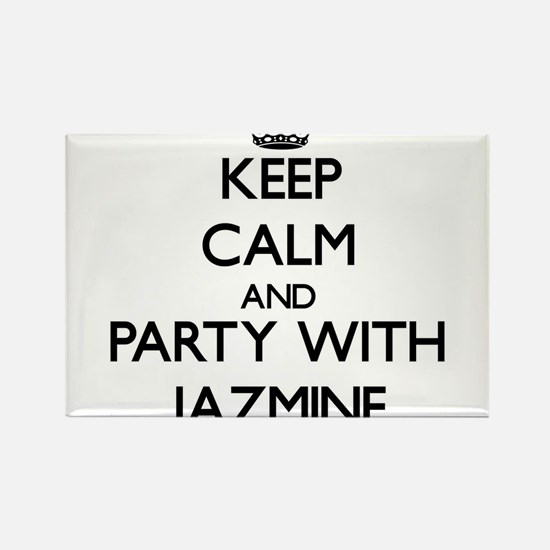 Keep Calm and Party with Jazmine Magnets