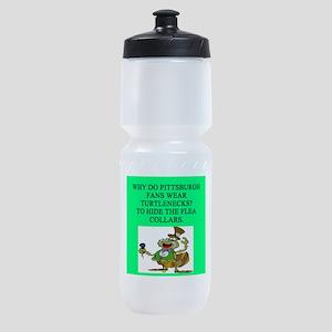pittsburgh fans Sports Bottle