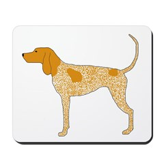American English Coonhound Mousepad