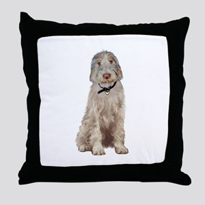 Italian Spinone (Wheaten) Throw Pillow