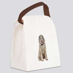 Italian Spinone (Wheaten) Canvas Lunch Bag