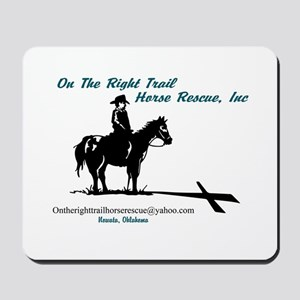 On the Trail Horse Rescue Mousepad