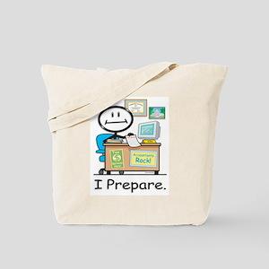 CPA I Prepare Tote Bag