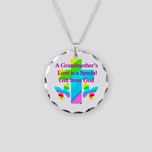 DARLING GRANDMA Necklace Circle Charm