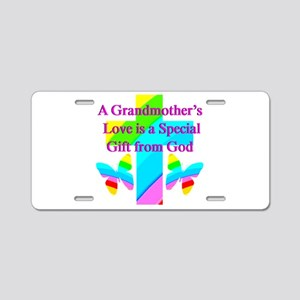 DARLING GRANDMA Aluminum License Plate