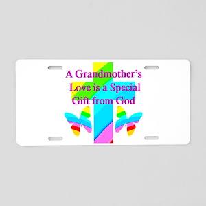 DARLING GRANDMA Aluminum License Plate