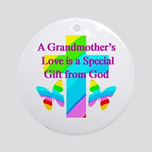 DARLING GRANDMA Ornament (Round)