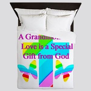 DARLING GRANDMA Queen Duvet