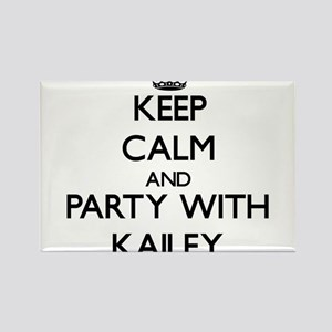 Keep Calm and Party with Kailey Magnets