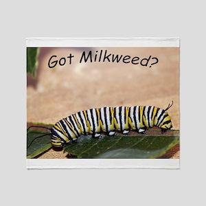 Got Milkweed Throw Blanket