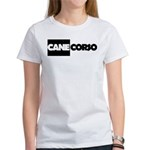 Cane Corso B&W Women's T-Shirt