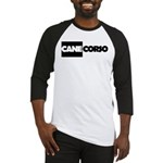 Cane Corso B&W Baseball Jersey