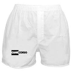 Cane Corso B&W Boxer Shorts