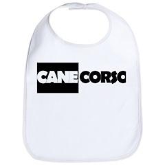 Cane Corso B&W Bib