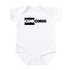 Cane Corso B&W Infant Bodysuit