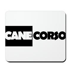 Cane Corso B&W Mousepad