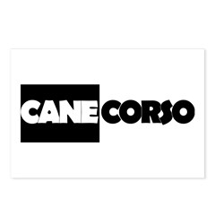 Cane Corso B&W Postcards (Package of 8)