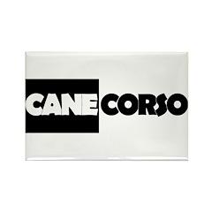 Cane Corso B&W Rectangle Magnet
