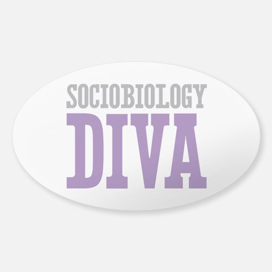 Sociobiology DIVA Sticker (Oval)