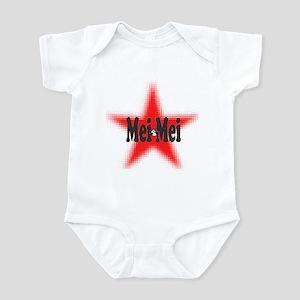 Mei Mei Panda Star Infant Bodysuit