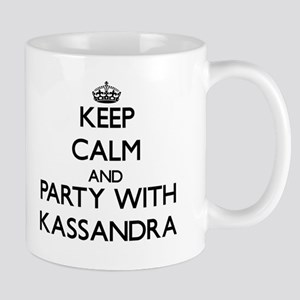 Keep Calm and Party with Kassandra Mugs
