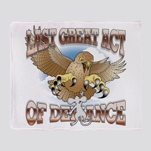 Last Great Act of Defiance v2 Throw Blanket