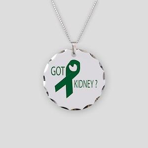 Got Kidney Necklace Circle Charm