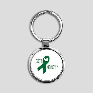 Got Kidney Round Keychain
