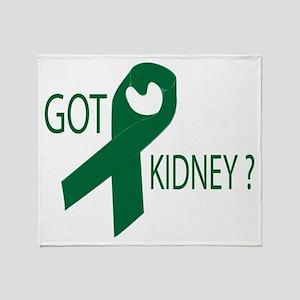 Got Kidney Throw Blanket