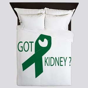 Got Kidney Queen Duvet